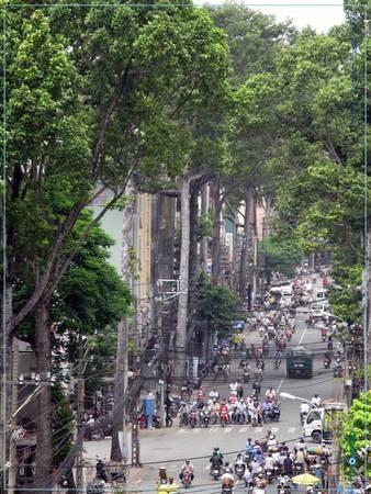 Nguyễn Trãi đoạn quận 5.