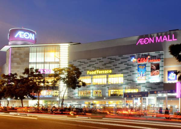Aeon Mall Tân Phú Celadon.