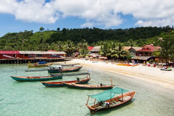 Khám phá 5 hòn đảo tuyệt đẹp khi du lịch Campuchia