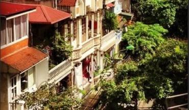 View của khách sạn Hà Nội 3B. Ảnh: Tripadvisor.com.