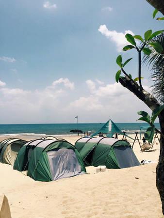 Cái nắng ở Lagi, Bình Thuận rất gay gắt nên chỉ thích hợp với những ai ưa hoạt động ngoài trời, năng động.