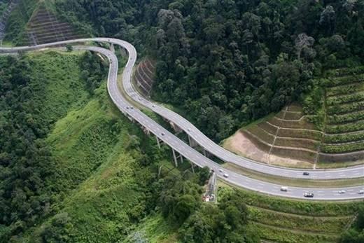 Danh sách những điểm ma ám của Malaysia sẽ không trọn vẹn nếu thiếu đi cái tên Karak – con đường cao tốc nối giữa thủ đô Kuala Lumpur và thị trấn Karak ở Pahang. (Nguồn: Internet)