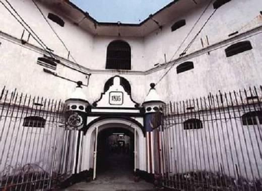 Nhà tù Pudu tọa lạc tại trung tâm của Kuala Lumpur là nơi giam giữ những tội phạm khét tiếng nhất. (Nguồn: Internet)12