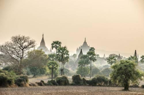 Bạn có thể đi từ Yangon đến Bagan bằng máy bay, buýt, tàu đều được. Tuy nhiên đi buýt đêm sẽ tận dung thời gian và có thể quan sát được nhiều hơn. Ảnh: sharkingforchipsanddrinks.