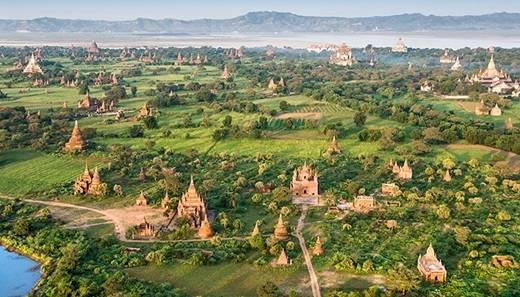 Khi mặt trời dần ló dạng, Myanmar tràn đầy nhựa sống, vươn mình đón một ngày mới. (Nguồn: Internet)