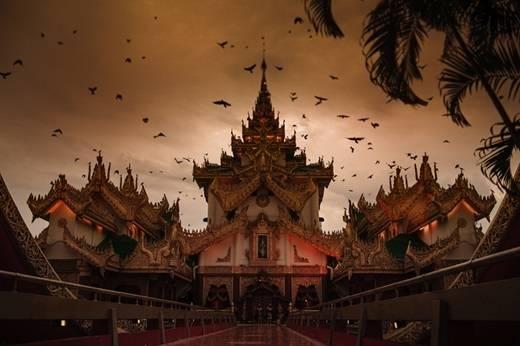 Đây không phải là một ngôi chùa nổi tiếng nào đâu mà là một... nhà hàng đấy. (Nguồn: Internet)