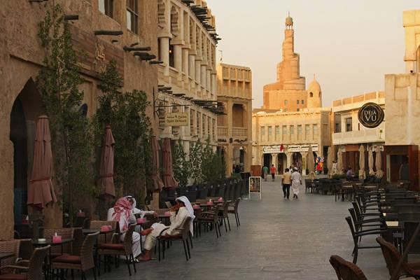 Souq Waqif được coi là điểm phải đến ở Doha.
