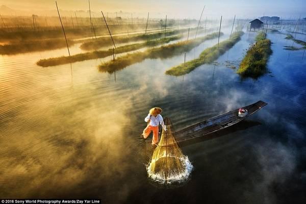 Bắt đầu từ năm 2008, giải nhiếp ảnh uy tín này đã nhận được sự đóng góp của nhiều tay máy, từ nghiệp dư tới chuyên nghiệp, với giải thưởng lên tới 5.000 USD. Zay Yar Line (Burma) đã gửi bức ảnh chụp lại khoảnh khắc ngư dân đánh cá trên hồ Innlay ở Myanmar.
