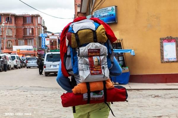Hành lý gọn nhẹ cho một chuyến du lịch bụi dài ngày.