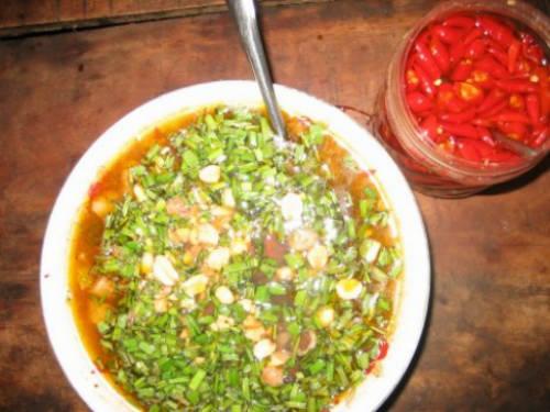 Lòng sả là món ăn dân dã ở Quảng Trị. Ảnh: quangtri360