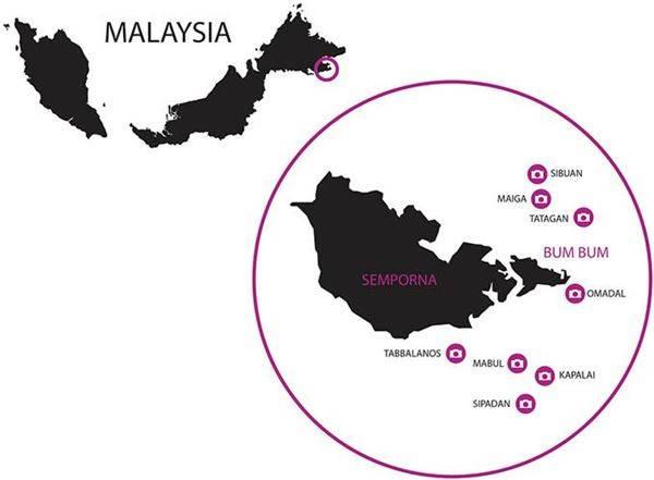 Cuộc hành trình của Réhahn để đến được nơi sinh sống của tộc người Bajau không hề dễ dàng. Sau chuyến bay đến Kuala Lampur, Réhahn mất khoảng ba giờ để tiếp tục bay đến Tawau và mất khoảng 1,5h đi xe để đến Semporna. Sau đó, Réhahn nhờ các công ty du lịch dẫn đến nơi sinh sống của tộc người Bajau. Ảnh: Réhahn Croquevielle