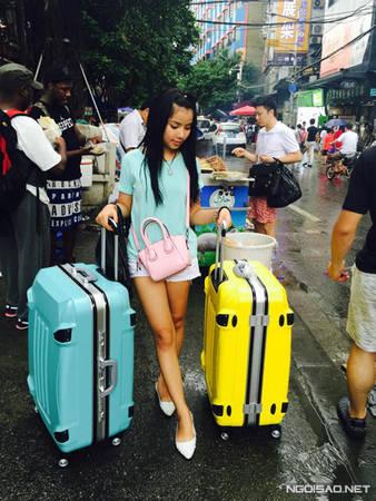 Nguyễn Thu - cô nàng du học sinh Việt Nam tại Quảng Châu - Trung Quốc.
