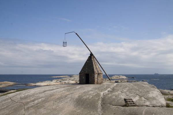 Hải đăng với ngọn đèn biển lắc lư ở Tjome - Ảnh: wp