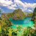 Palawan nổi tiếng với địa hình, địa chất đa dạng. Những hòn đảo với các vách đá dựng đứng, các hang động kì bí, thạch nhủ lởm chởm, các khu rừng rậm và sương mù bao phủ dãy núi. Ảnh: huffingtonpost