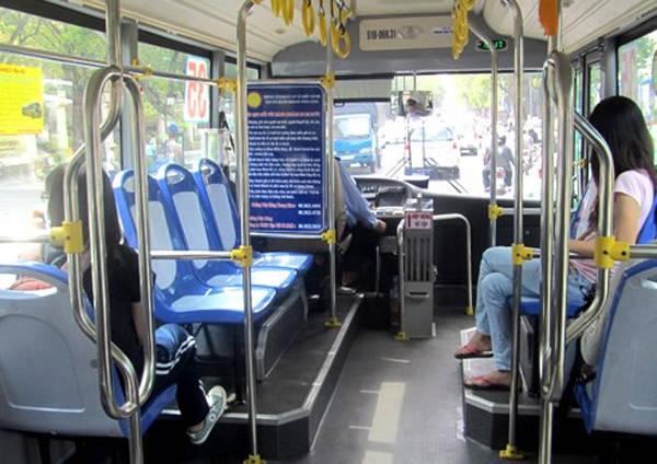 Xe buýt ở TP HCM đã được cải tiến, lịch sự và sạch sẽ hơn nhiều. Ảnh: VNE