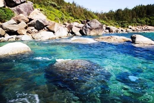 Biển Dung Quất đẹp mê hồn. (Nguồn: Internet)