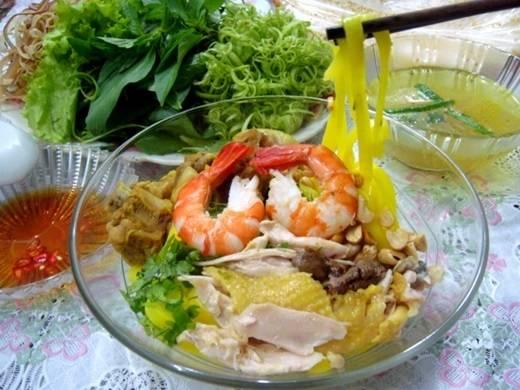 Mì Quảng Quảng Ngãi đủ màu sắc hấp dẫn. (Nguồn: Internet)