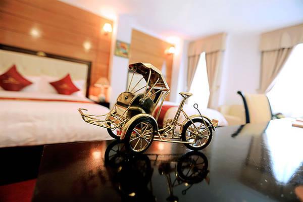"""Hình ảnh """"Golden Cyclo"""" trong khách sạn."""