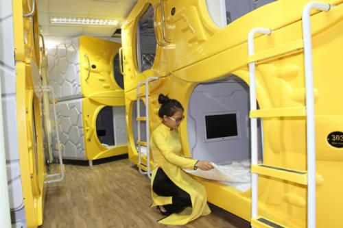 Các buồng ngủ được thiết kế hiện đại. Ảnh: baokhanhhoa