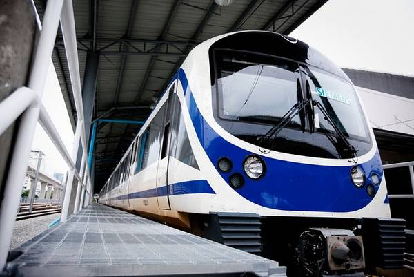 Bangkok Airport Rail Link. Ảnh: sawasdeeka.net