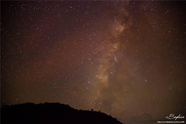 Bầu trời đầy sao khi đêm về... (Ảnh: Internet)