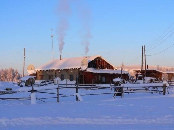 Ngôi làng Oymyakon hiện là nơi sinh sống của hơn 500 người Nga và các dân tộc thiểu số khác - Ảnh: Amusing