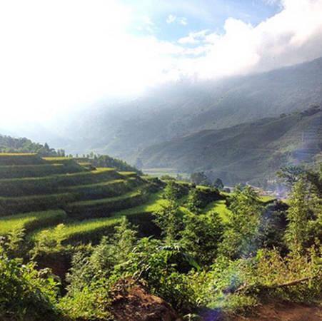 Những thửa ruộng bậc thang ở các tỉnh miền núi Tây Bắc Việt Nam cũng là điều khiến du khách nước ngoài thích thú.