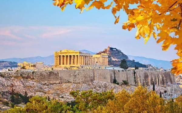 Đứng thứ 9 là Hy Lạp. Đất nước này không nằm trong top 10 điểm đến tìm kiếm nhiều nhất trên Google năm 2014.
