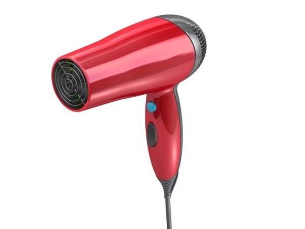 Một chiếc máy sấy tóc sẽ mang lại nhiều tác dụng hơn bạn tưởng. Ảnh: Grabcad.