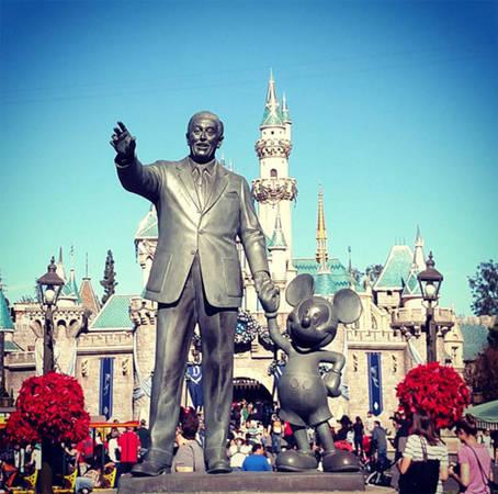 Công viên Disneyland, Anaheim, California, Mỹ.