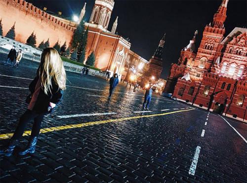 Quảng trường Đỏ, Moscow, Nga.