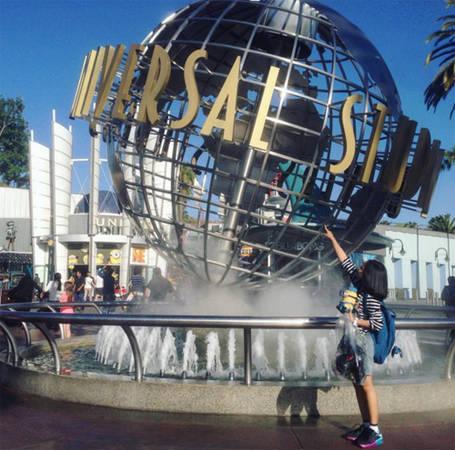 Công viên giải trí Universal Studios, Los Angeles, California, Mỹ.