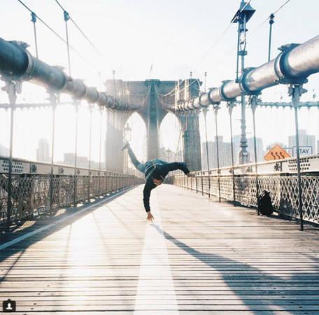 Cầu Brooklyn, New York, Mỹ.