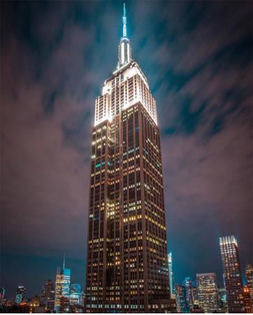 Tòa nhà Empire State, New York, Mỹ.