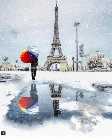 Tháp Eiffel, Paris, Pháp.