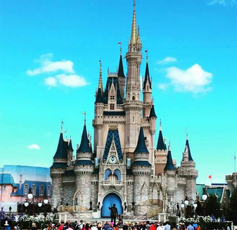 Công viên Walt Disney, Bay Lake, Florida, Mỹ.