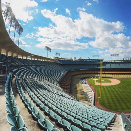 Sân vận động Dodgers, Los Angeles, California, Mỹ.