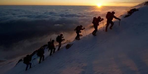 Các lều nghỉ qua đêm mở cửa từ 1/7 tới 27/8 hàng năm. Bạn có thể khởi hành từ chân núi, qua 10 trạm để lên đỉnh, hoặc bắt đầu từ trạm số 5 nơi đường cho xe chạy kết thúc. Nếu leo vào buổi đêm, du khách sẽ được ngắm mặt trời mọc, hoặc bạn có thể đi vào ban ngày và xuống hôm sau. Trong vô số tuyến đường dẫn lên đỉnh Phú Sĩ, đường Yoshida có nhiều dấu tích lịch sử, đền miếu và quán trà cổ nhất. Ảnh: Greenpeace.