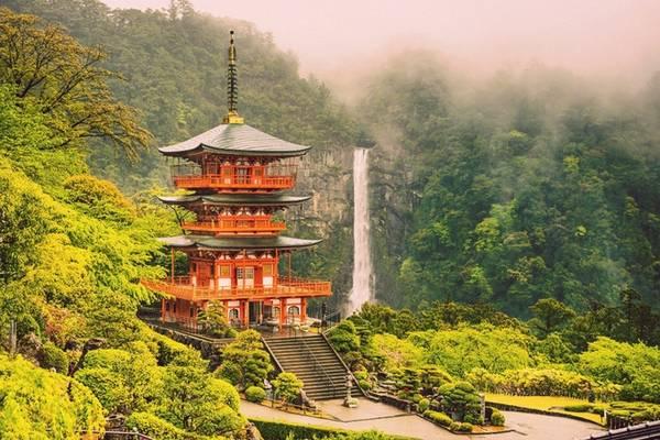 Kumano Kodo Kumano Kodo cũng là tuyến đường hành hương nổi tiếng với ngôi đền được UNESCO công nhận là di sản văn hóa thế giới. Có 3 cung đường leo núi chính cho du khách. Ảnh: globalcommute