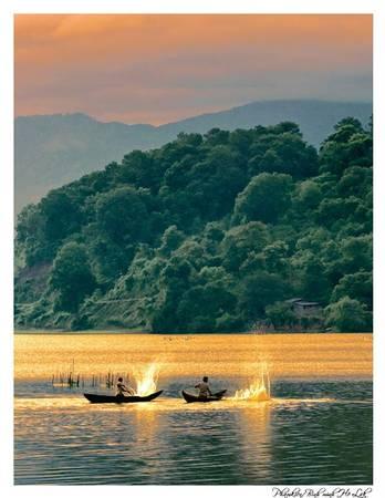 Hồ Lak. Ảnh: Kiên Huyện