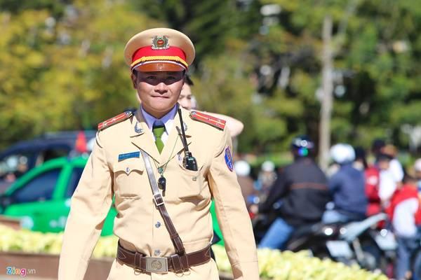 Hơn 100 chiến sĩ công an sẽ có mặt đảm bảo an ninh trật tự ở trung tâm lễ hội.