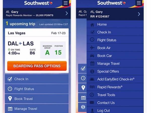 Tải ứng dụng của hãng: Nhiều hãng hàng không đã phát triển ứng dụng điện thoại giúp hành khách có thông tin thực tế về việc hoãn chuyến hay đổi cổng. Nhờ vậy, nếu bạn bị đổi cổng và không có nhiều thời gian, ứng dụng sẽ cho bạn biết điều đó trước cả khi bạn tới sân bay.