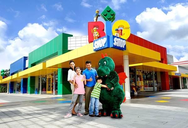 Legoland để lại khoảnh khắc kỷ niệm khó quên với các thiên thần nhỏ.