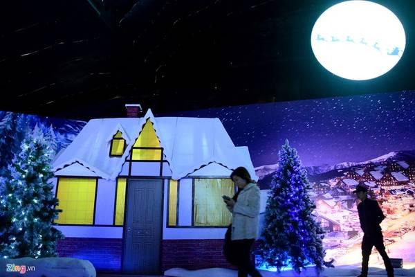 Tới đây, du khách được trải nghiệm cảnh mùa đông lạnh giá và tưởng tượng mình như đang ở một quốc gia thuộc Bắc Âu.