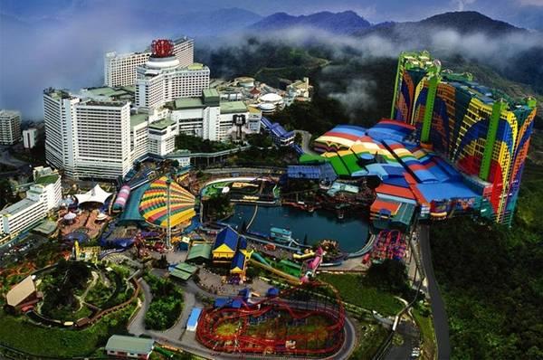 LWorld Genting là công viên chủ đề đầu tiên ở Malaysia, đã hoạt động được 30 năm. Công viên này sẽ được mở rộng và chuyển thành Công viên 20th Century Fox World vào cuối 2016 đầu 2017. Ảnh: Agbrief.