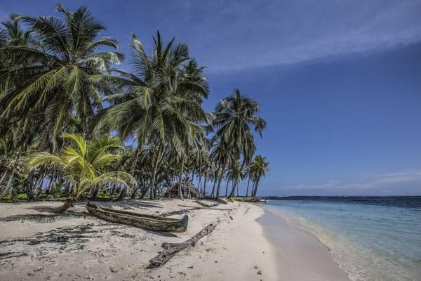 Những bãi biển hoang sơ ở San Blas. Ảnh: Nori Jemil