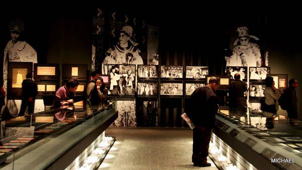 Các hiện vật trưng bày bên trong bảo tàng di sản Hong Kong. Ảnh: Hungyung1979