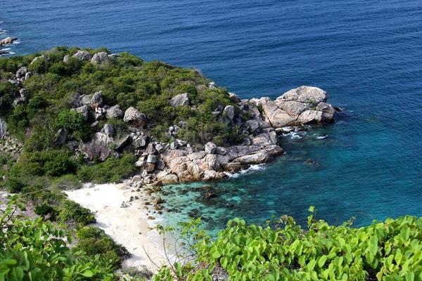 Một góc đảo Bình Ba. Ảnh: thethaovanhoa