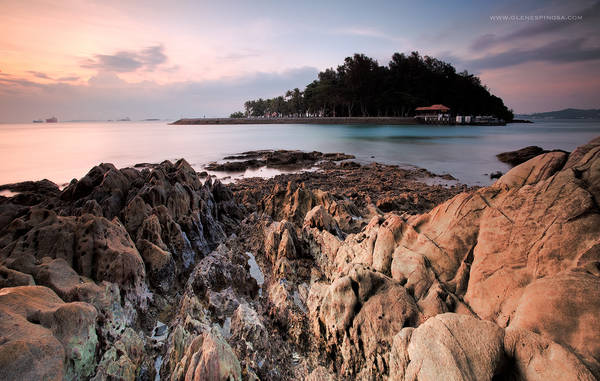 Đảo Hai chị em Singapore. Ảnh: Glen Espinosa Photography