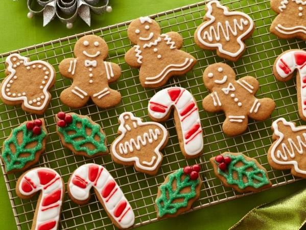 Bánh quy gừng, một trong những chiếc bánh không thể thiếu trong mùa Giáng Sinh